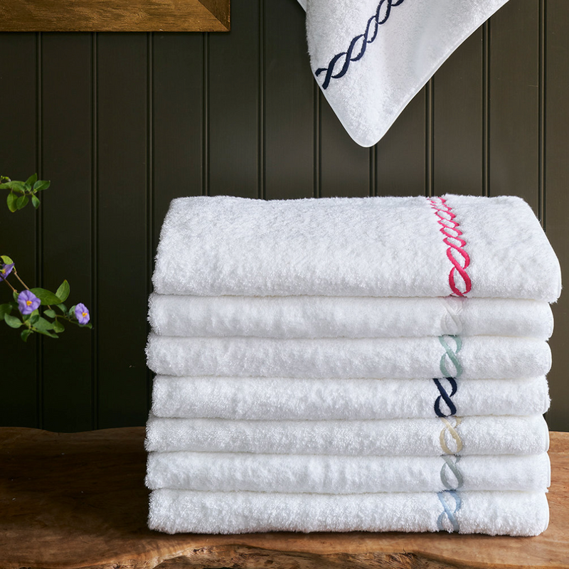 Classic Chain Towels - Pioneer Linens
