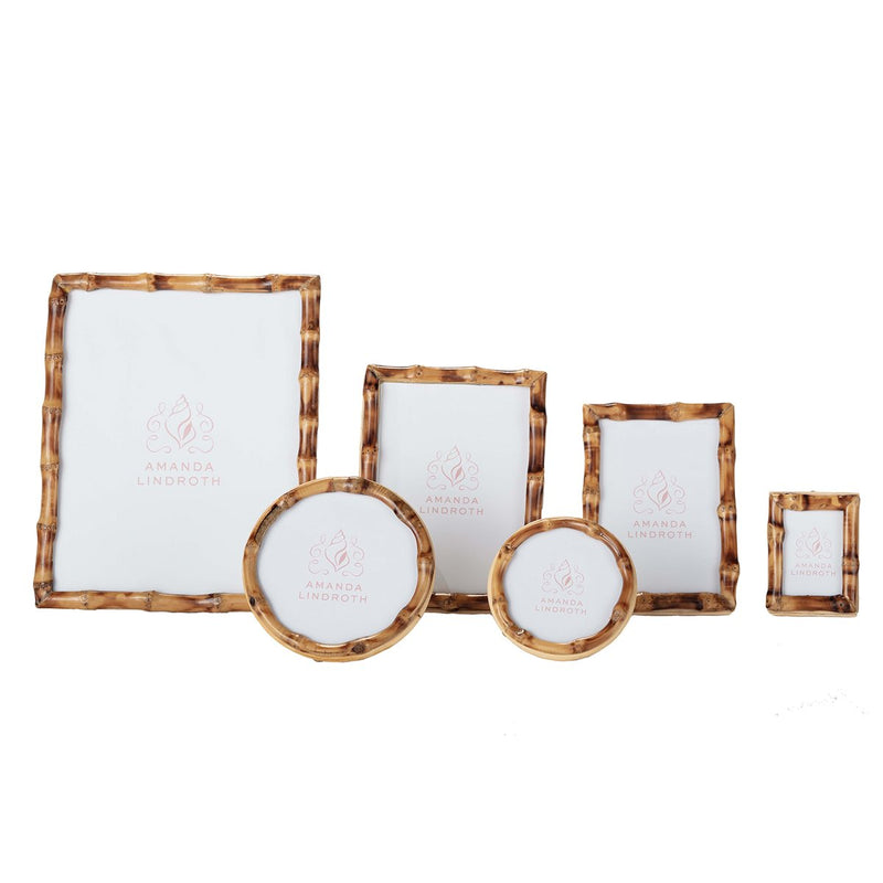 Short Knot Bamboo Picture Frames - Pioneer Linens
