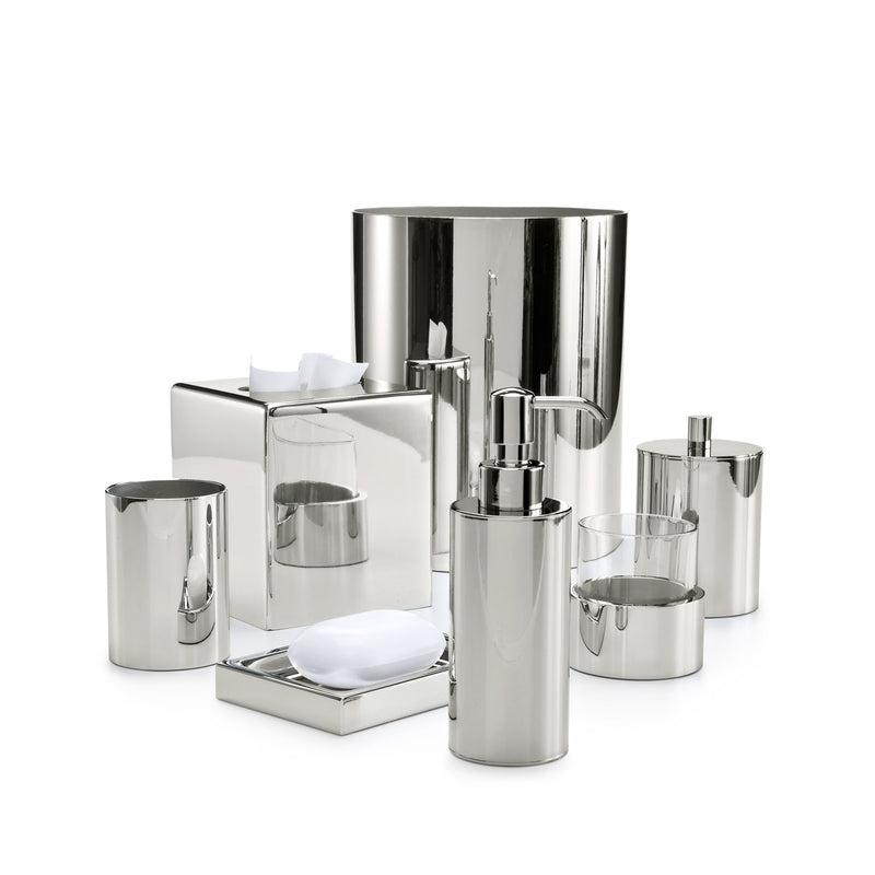 Silvio Polished Nickel Vanity Set - Pioneer Linens