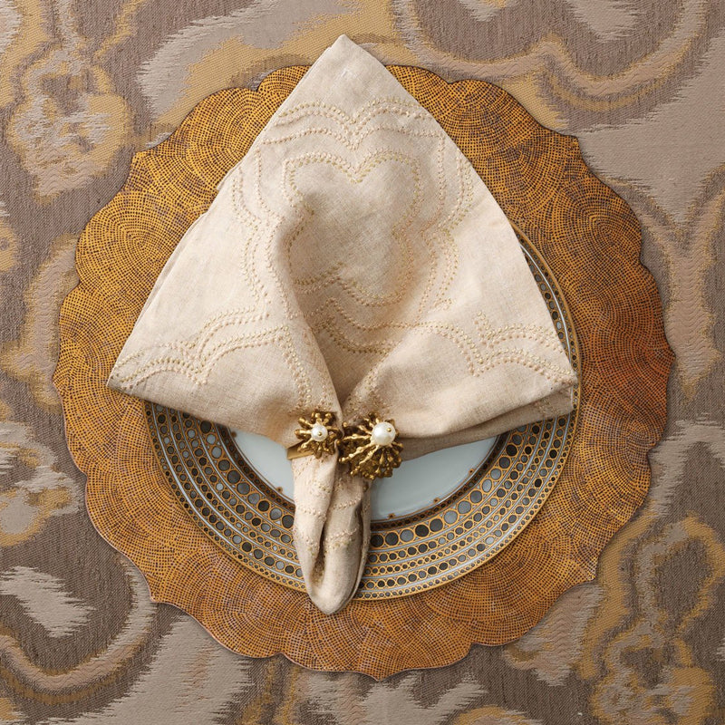 TANGIER PLACEMATS IN GOLD