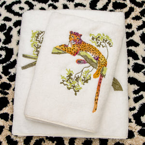 Tree Jaguar Towels