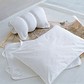 Down Travel Pillow & Cover