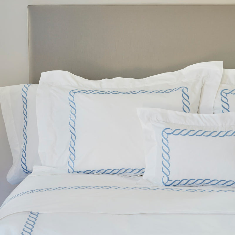 Two Tone Chain Bed Linens - Pioneer Linens
