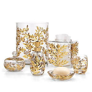 Vine Gold Vanity Set