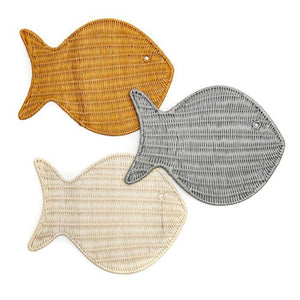 Wicker Fish Placemats