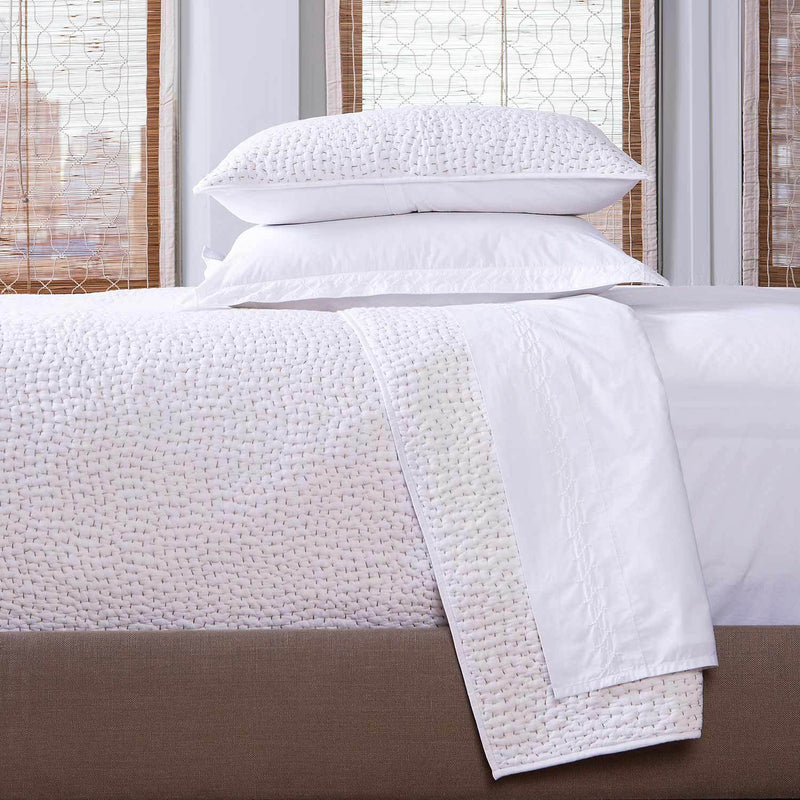 Hand Stitched Sand Coverlet - Pioneer Linens