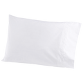 Stitched White Sham and Sheets - Pioneer Linens