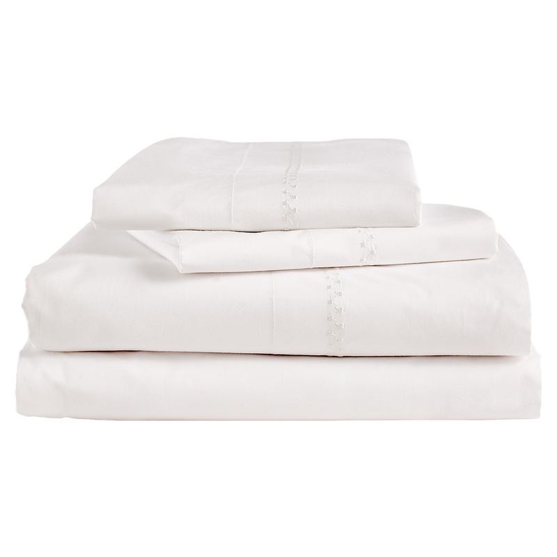Anketi White Sheet Set - Pioneer Linens