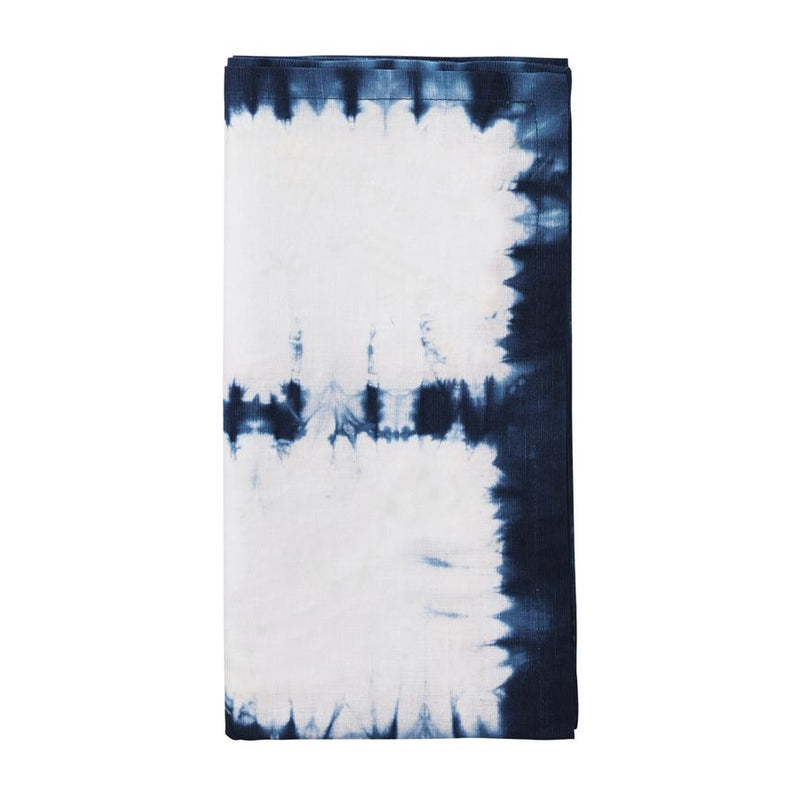 CONGO NAPKIN IN WHITE & BLUE