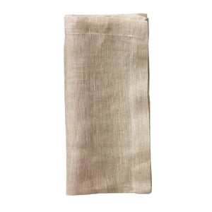 CHAMBRAY GAUZE NAPKINS IN NATURAL