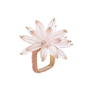 CONSTELLATION NAPKIN RING IN BLUSH