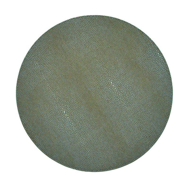 SHAGREEN PLACEMAT IN SAGE - Pioneer Linens