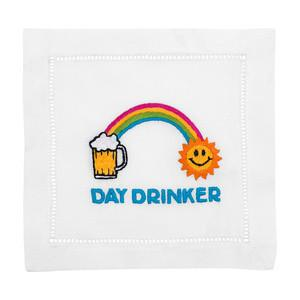 DAY DRINKER Cocktail Napkins - Pioneer Linens