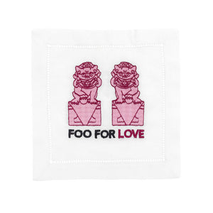 Foo For Love Cocktail Napkins