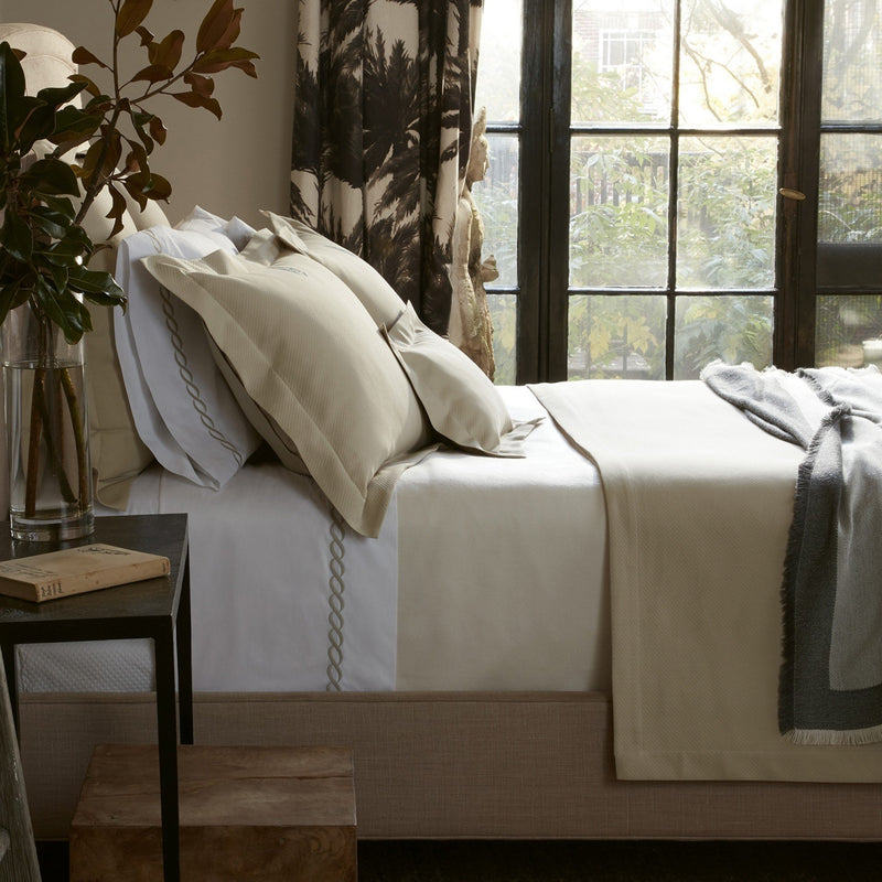 Elliot Easy-Care Coverlet