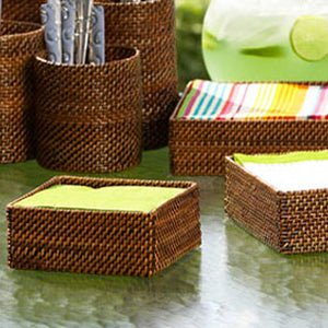 Woven - Cocktail Napkin Holder