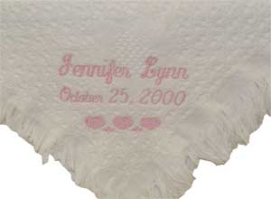 Cotton Carriage Baby Blanket