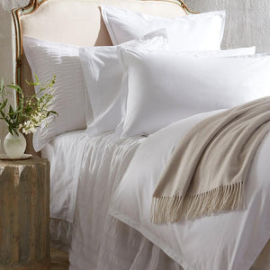 Ceylon Satin Stitch Bed Linens