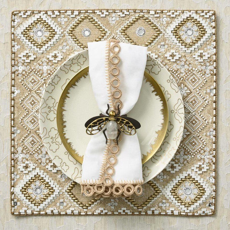 FLY AWAY NAPKIN RING - Pioneer Linens