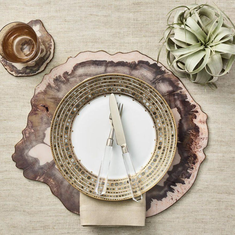 PETRIFIED WOOD COASTERS - Pioneer Linens