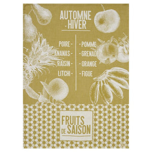 De Saison Fruits Tea Towels