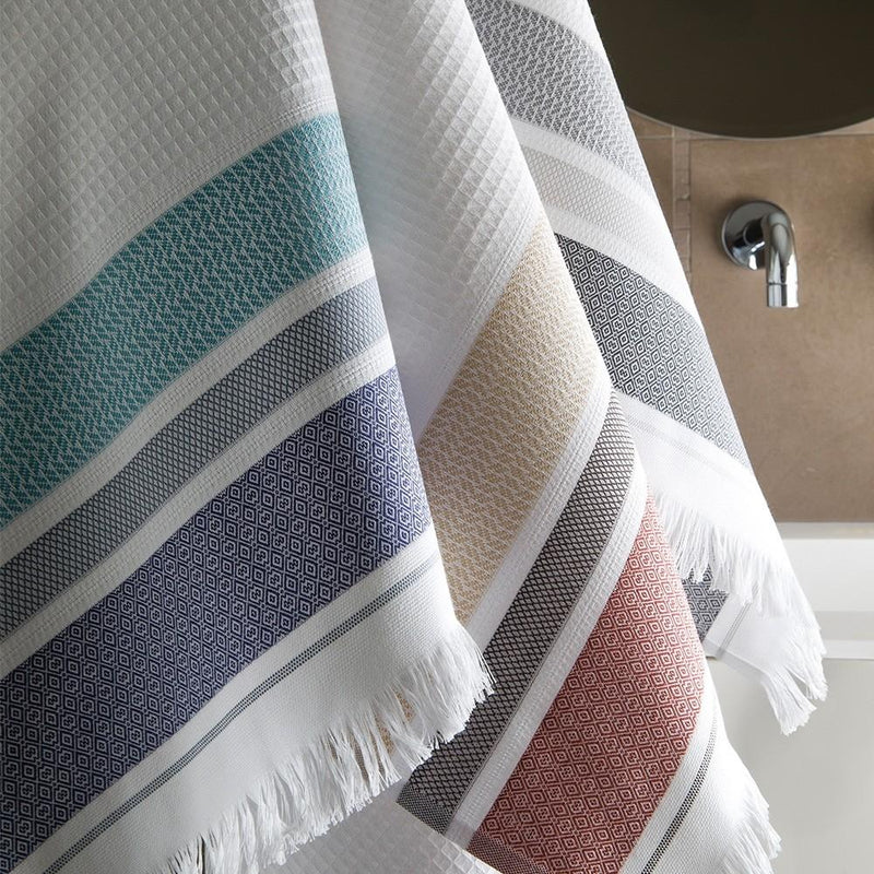 Folk Bath Towels - Pioneer Linens