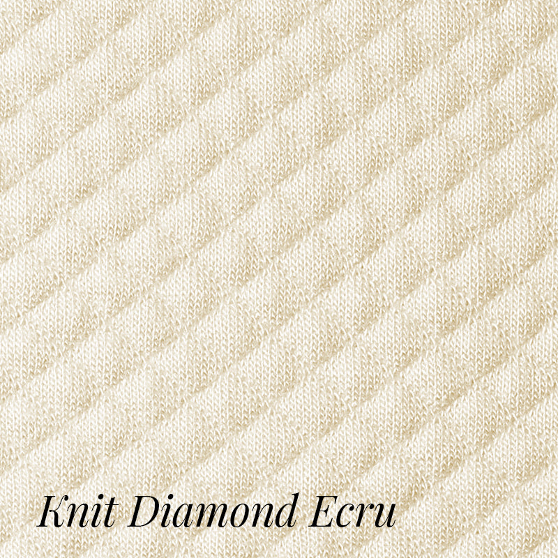 Knit Diamond Robe