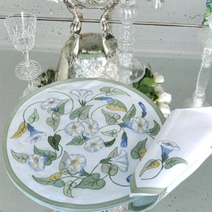 Morning Glory - Placemat and Napkin Set