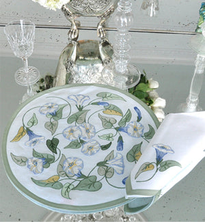 Morning Glory - Placemat and Napkin Set - Pioneer Linens