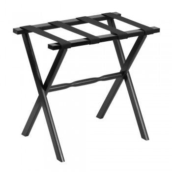 Black Hospitality Luggage Rack - Pioneer Linens