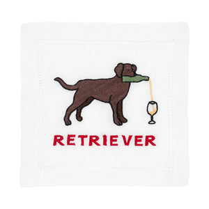 Labrador Retriever Cocktail Napkin