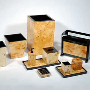 Mappa Burl Lacquer Vanity Set