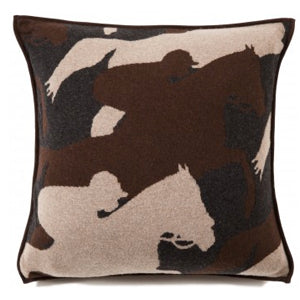 Cantering Horse Cashmere Accent Pillow