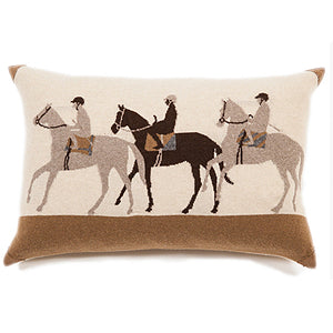 Jockey Accent Pillow