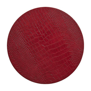 Croco Placemats in Red