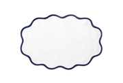 Scallop Placemat (set of 4) / 13 W x 19 L