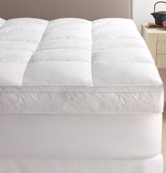 Scandia Home Pillowtop Featherbed Pioneer Linens