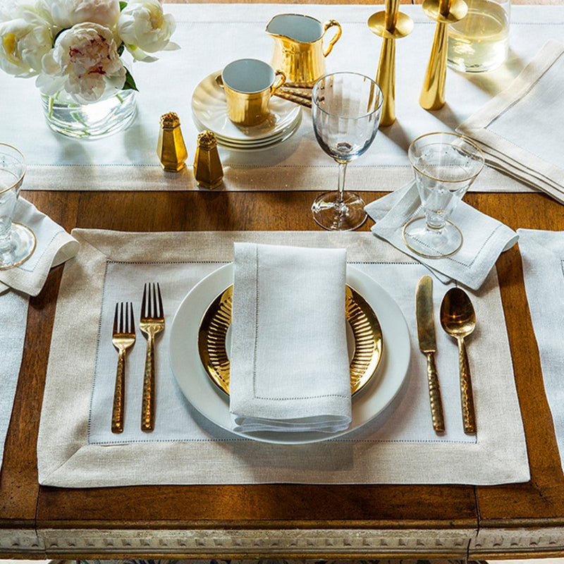 Filetto Table Linens