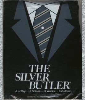 Silver Butler - Polishing Cloth - Pioneer Linens