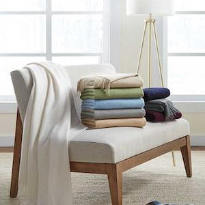 Dorsey Cashmere Throw