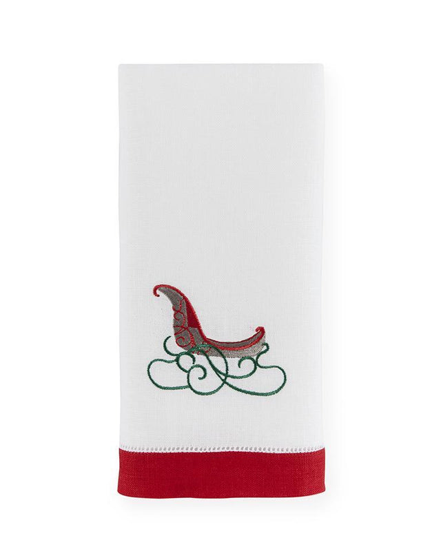 Sled Guest Towels - Pioneer Linens