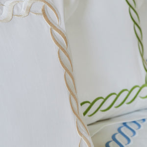 Two Tone Chain Bed Linens