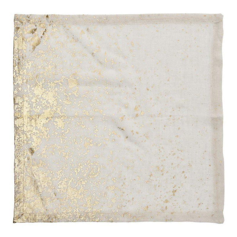 Metafoil Napkins in Gold - Pioneer Linens