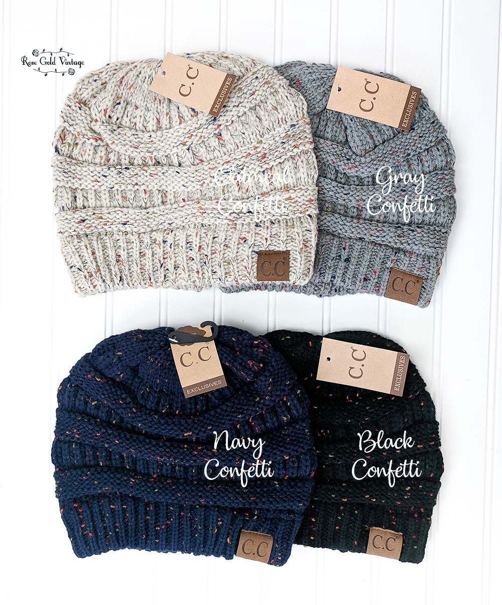 ... CC Beanie Hats - 45+ colors - Solid 2f181dd480c