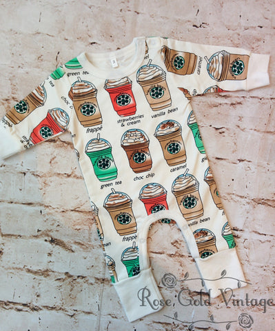 Coffee House Romper (Infant)
