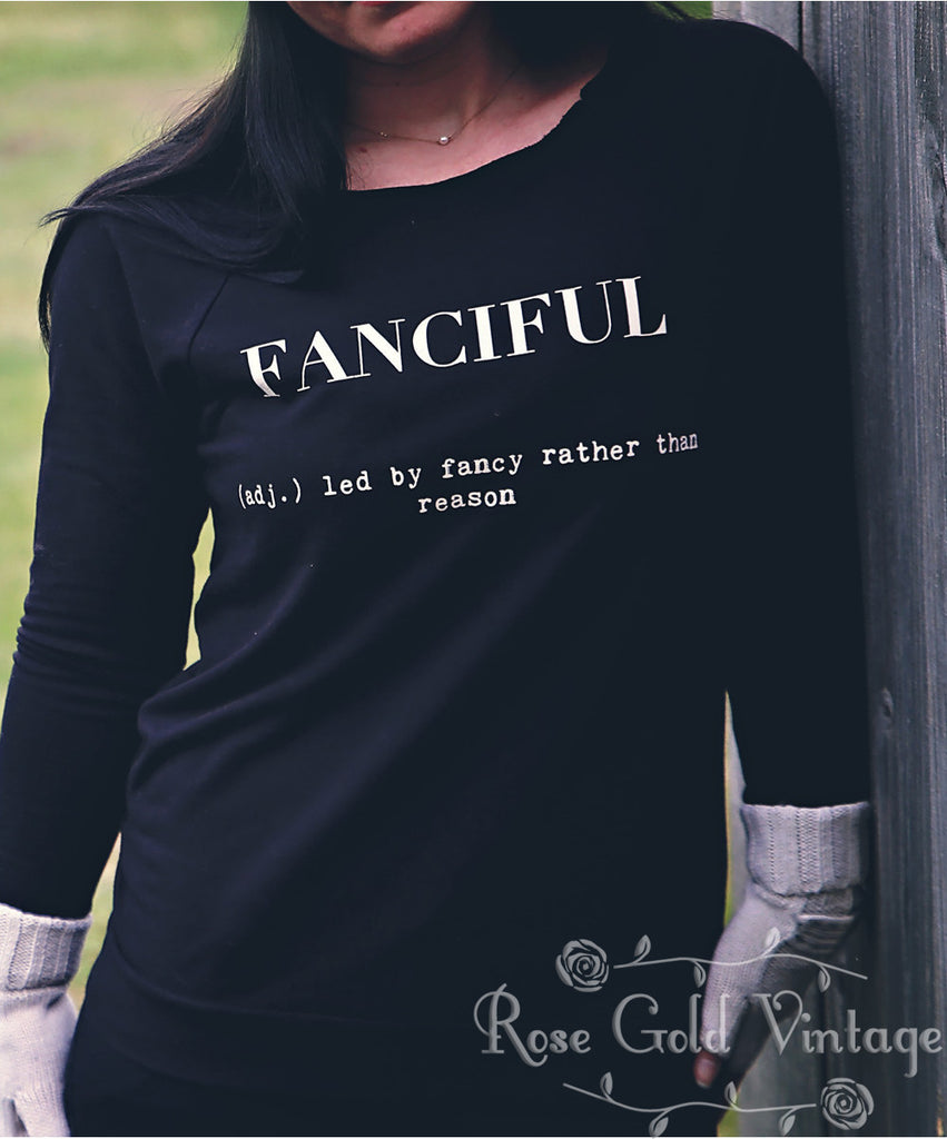 Fanciful 3/4 Sleeve Raglan (Ladies)