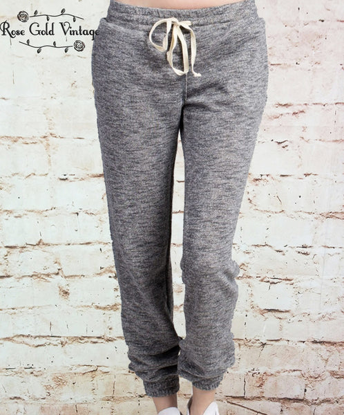 Cozy Weekend Joggers - Charcoal