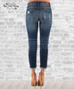 Stretch Cropped Boyfriend Jeans by Judy Blue
