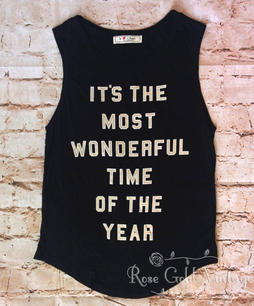 Most Wonderful Time of the Year Tank (Ladies)