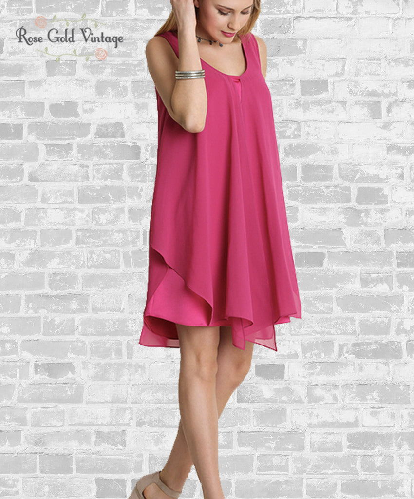 Date Night Dress - Pink